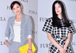 Lee Da Hee and Jang Jae In Attend FURLA Launching Event