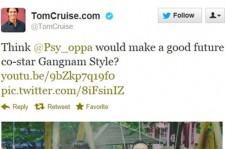 Actor Tom Cruise Friend Requests