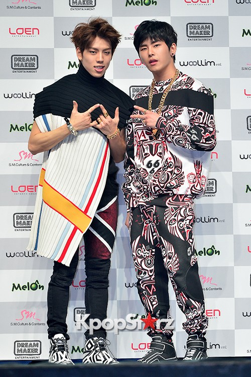 Infinite H 'Fly Again' Showcase Press Conference key=>40 count44