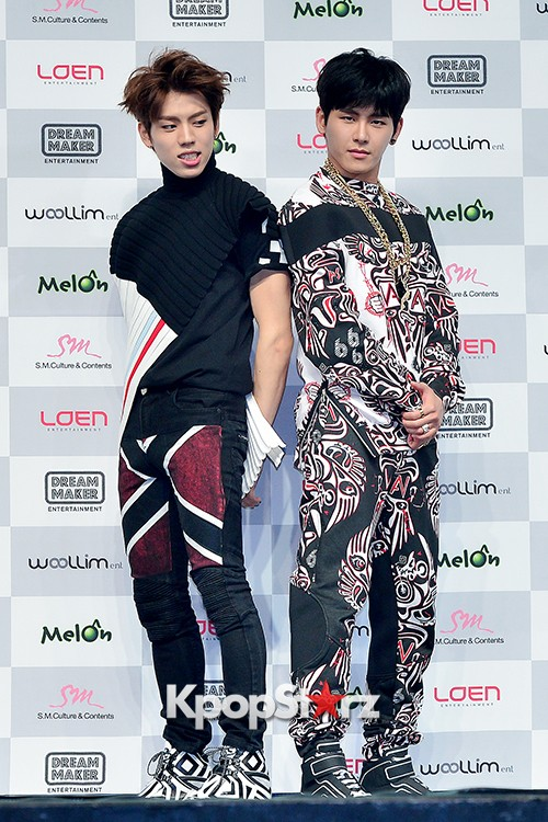 Infinite H 'Fly Again' Showcase Press Conference key=>43 count44