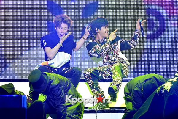 Infinite H 'Fly Again' Showcase Pretty Performance key=>4 count37