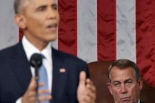 John Boehner Sits Behind Obama During 2015 State of the Union Address [PHOTO]