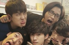 b1a4 ugly face for jinyoung
