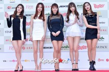 EXID Attends The 4th Gaon Chart Kpop Awards
