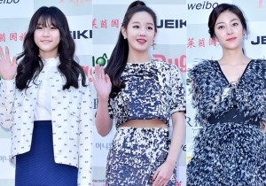 KIm Sae Ron, Park Bo Ram and Wang Ji Won Attend The 4th Gaon Chart Kpop Awards