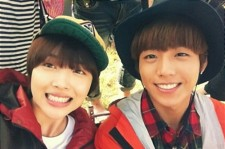 sulli lee hyun woo smile picture