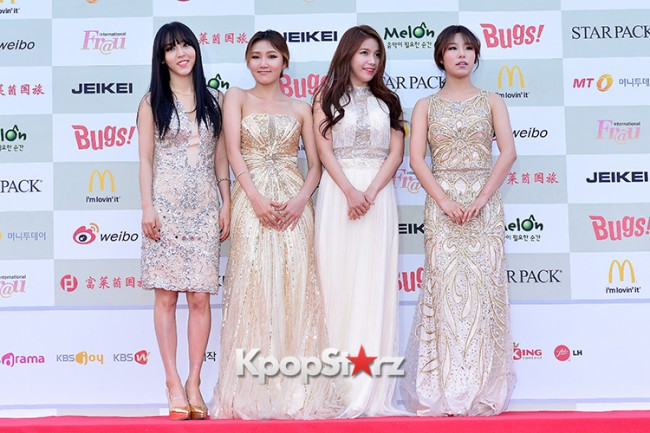 MAMAMOO Attends Attends The 4th Gaon Chart Kpop Awards key=>5 count11