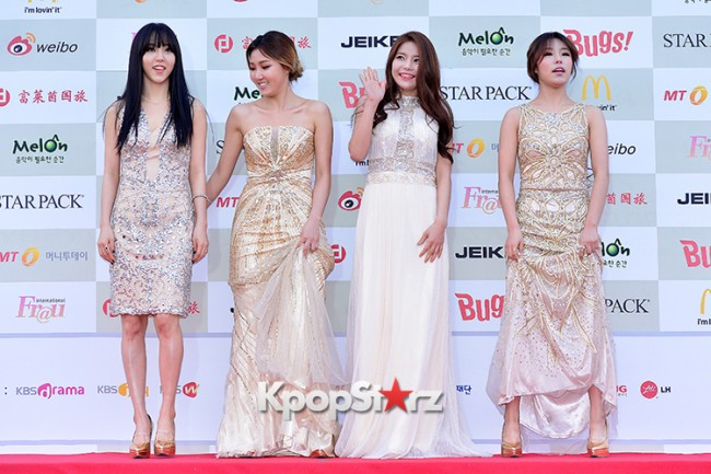 MAMAMOO Attends Attends The 4th Gaon Chart Kpop Awards key=>7 count11