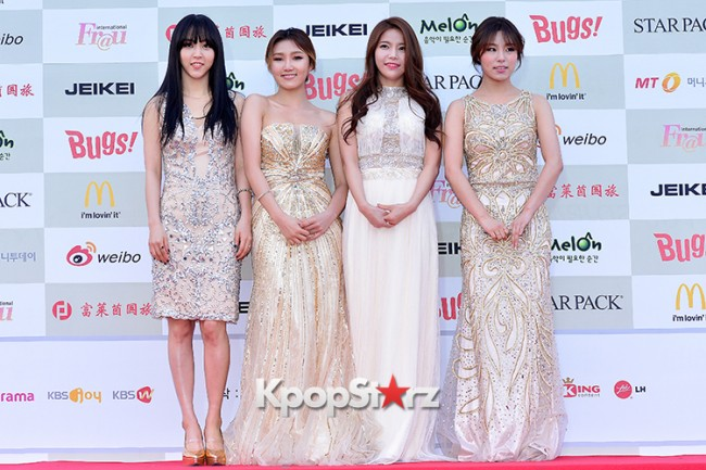 MAMAMOO Attends Attends The 4th Gaon Chart Kpop Awards key=>8 count11