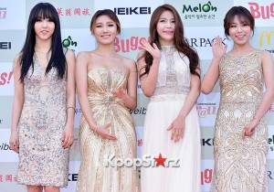 MAMAMOO Attends Attends The 4th Gaon Chart Kpop Awards