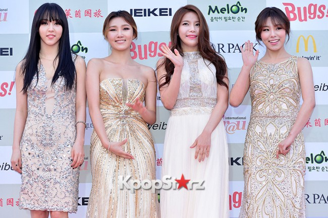 MAMAMOO Attends Attends The 4th Gaon Chart Kpop Awards key=>0 count11