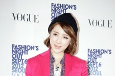 Kpop: Seo Inyoung's Photo Time at '2012 Vogue Fashion Night Out'