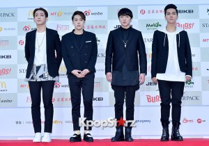 Winner Attends The 4th Gaon Chart Kpop Awards