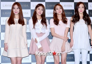 Kara Attends Koreana Cosmetics Launching Event
