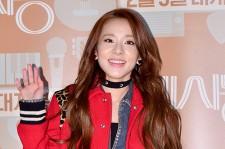 2ne1's Sandara Park Attends a VIP Premiere of Upcoming Movie 'C'est Si Bon'