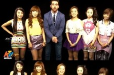 Wonder Girls Horse Dance of 'Gangnam Style'