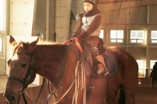 haru goes horseback riding