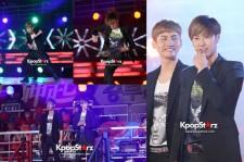 TVXQ's Splendid Opening Dance at MBC 'God of Victory'