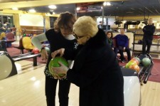 Grandmother Scores Strike On Her First Bowl