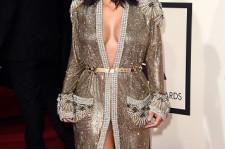 Kim Kardashian at Grammy Awards 2015
