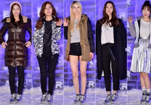 Kyung Soo Jin, Kim So Eun, Nara, Seo Ji Hye and Choi Hee at EXR 'EXCELERATE Night(BRANDNEW PROJECT)' Event