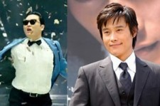 Psy-Lee Byung Hyun Meet in L.A. for 'Gwanghae' Movie Premiere