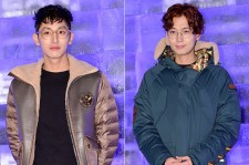Lee Soo Hyuk and Jung Kyung Ho at EXR 'EXCELERATE Night(BRANDNEW PROJECT)' Event