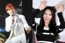 Girl's Day's Yura and INFINITE's Sunggyu