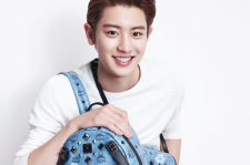 EXO Chanyeol MCM 2015 Collection Bags