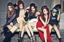 4Minute Are Fierce In Cosmopolitan's March Issue