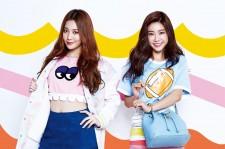Girls' Generation's Tiffany, KARA's Goo Hara, Davichi's Kang Min Kyung, A Pink's Na Eun, Girls' Day Yura and Sojin Pose For Vogue Girl March 2015