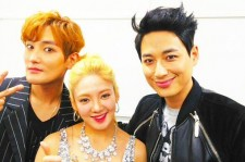 kangta lee ji hoon with hyoyeon