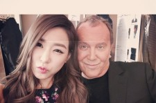 Tiffany Meeting Michael Kors at NYFW S/S 2015
