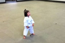 3-Year-Old Taekwondo Student Recites Student Creed And It's Adorable