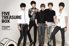 FTISLAND Sells 20,000 Copies of 'Five Treasure Box' in 5 Days