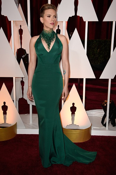 Scarlett Johansson at the Oscars 2015key=>1 count5