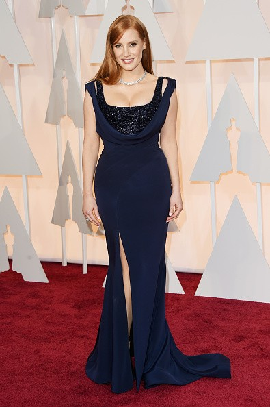 Jessica Chastain at the Oscars 2015key=>2 count5