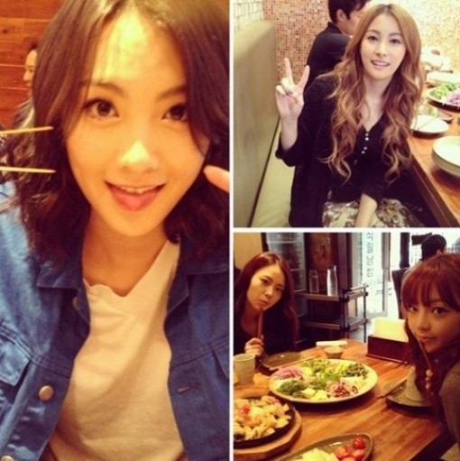 "KARA Was Seen Dining Together ""Outside For The First Time In A While~""key=>0 count1"