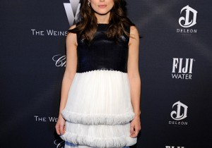 Keira Knightley attends The Weinstein Company's Academy Awards Nominees Dinner