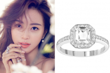 Han Ye Seul Swarovski For Elle March 2015