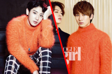 EXO Chanyeol The Celebrity Magazine November Issue 2014 BTOB Eunkwang Vogue Girl Magazine October Issue 2014