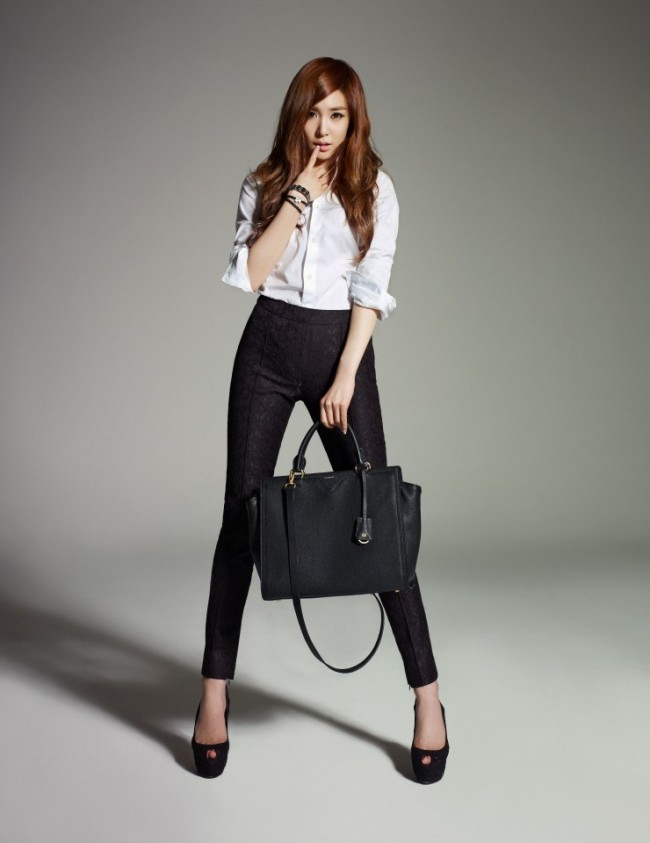 Girls Generation(SNSD) Tiffany's Lovely Bean Pole Accessory Official Photo Shootkey=>3 count10