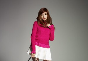 Girls Generation(SNSD) Tiffany's Lovely Bean Pole Accessory Official Photo Shoot