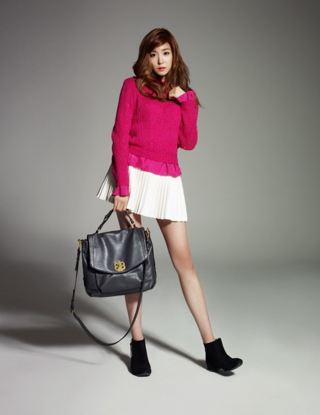 Girls Generation(SNSD) Tiffany's Lovely Bean Pole Accessory Official Photo Shootkey=>0 count10
