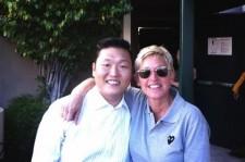 Psy with Ellen