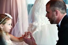 This Groom's Epic Pledge To His Tiny Stepdaughter Will Make You Cry
