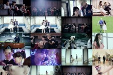 JYP's New Single 'Classic' Music Video Captrues (J.Y. Park, miss A's Suzy and 2PM's Wooyoung and Taecyeon)