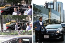 Psy Drives Hyundai Equus While in the U.S., 'Shocking'