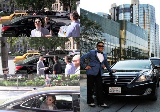 Psy Drives Hyundai Equus While in the U.S., 'Shocking'key=>0 count1