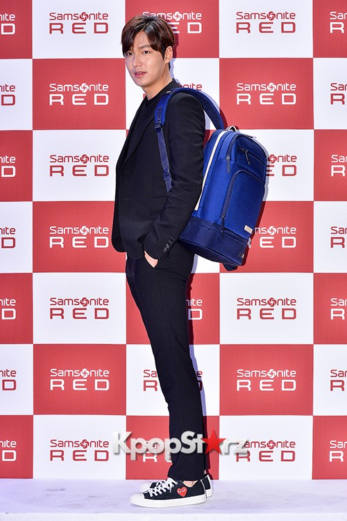 Lee Min Ho at Samsonite Red Talk Event key=>4 count27